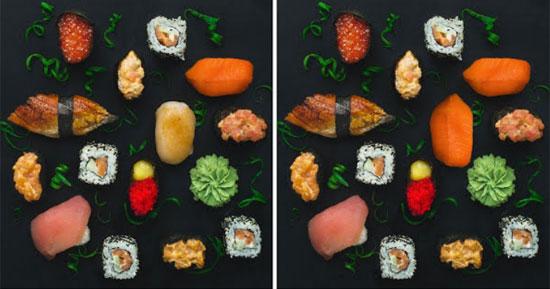 Mê mẩn đồ ăn ngon, bạn có nhận ra điểm khác biệt?