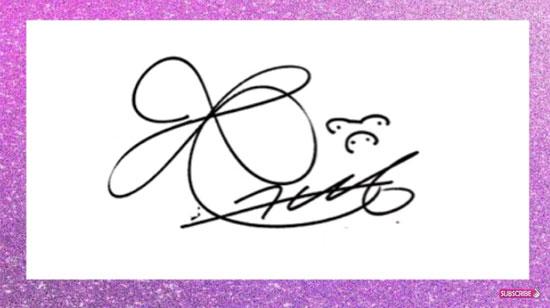 Soi chữ ký đoán idol Hàn, dễ hay khó?