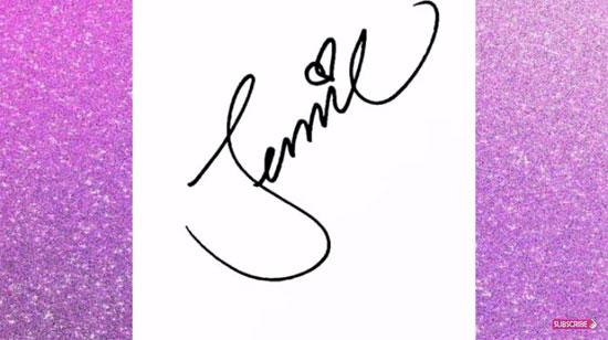 Soi chữ ký đoán idol Hàn, dễ hay khó? - 5