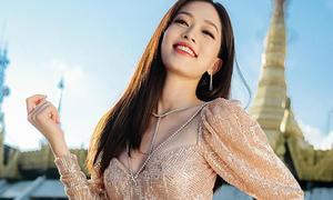Phương Nga 'không có đối thủ' trong cuộc đua bình chọn ở Miss Grand International