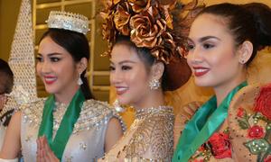 Phương Khánh đoạt HCV trang phục dân tộc tại Miss Earth 2018