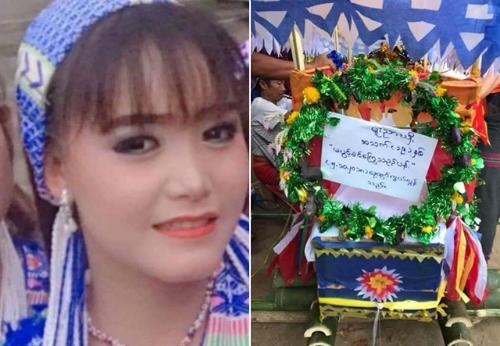Nữ diễn viên Myanmar xinh đẹp khiến nhiều người tiếc thương vì ra đi khi còn quá trẻ.