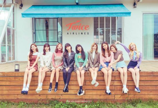 Twice liên tục có sản phẩm mới từ Hàn tới Nhật.