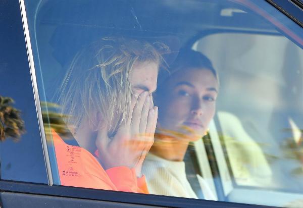 Hình ảnh mới nhất của Justin bên cạnh Hailey.