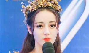 'Nữ thần' Địch Lệ Nhiệt Ba khiến khán giả 'choáng ngợp' tại giải Kim Ưng