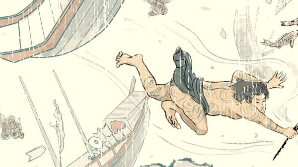 Phim có sử dụng những hình ảnh minh họa sử Việt.