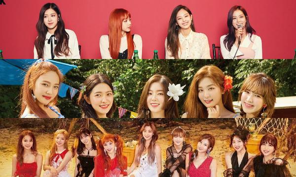 Black Pink, Red Velvet và Twice thống trị BXH danh tiếng tháng 10.