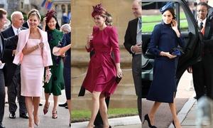 Những trang phục đẹp nhất ở đám cưới Công chúa Eugenie