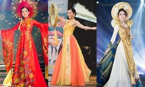 Trang phục dân tộc của đại diện Việt Nam qua các mùa Miss Grand International
