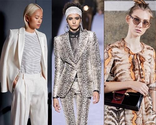 Không ngoa khi nói rằng, sàn diễn Thu - Đông 2018 là xứ sở của loài trăn khi họa tiết mang âm hưởng của xu hướng retro đầu thập 80 bất ngờ thịnh hành và trở lại mạnh mẽ. Không có để bắt gặp trang phục họa tiết da trăn trong BST mới nhất của các nhà mốt Tomford, Givenchy, Stella McCartney...Da trăn được lồng vào các món phụ kiện như quần áo, váy vóc, phụ kiện. Nếu như trang phục bên ngoài với họa tiết da trăn quá phá cách thì những món phụ kiện chính là sự lựa chọn mang tính tối ưu để vừa tự tin khi mặc, vừa cập nhật xu hướng.