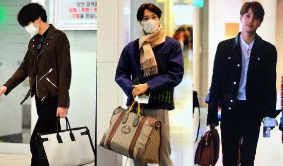 Mọi người phát cuồng vì những chiếc túi to bản mà Kai sử dụng. Mỗi khi anh chàng xách túi Gucci, Burberry thì những sản phẩm này đều bán cháy hàng.