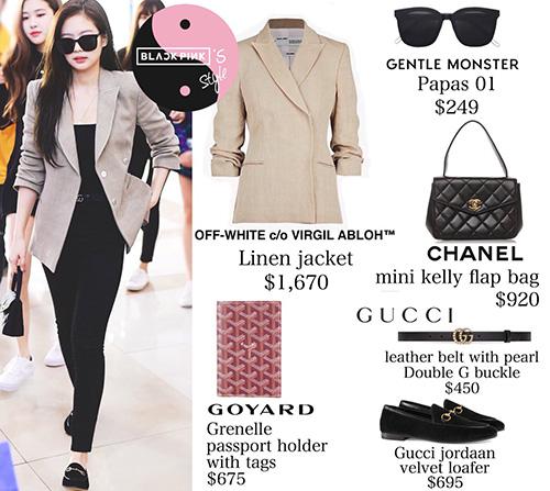 Không chỉ khoác lên mình những set đồ xa xỉ, Jennie còn có khả năng biến trang phục giá bình dân trở nên đắt giá hơn.