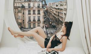 Ngọc Trinh bị nghi ghép ảnh khi đi du lịch ở Pháp, Thổ Nhĩ Kỳ