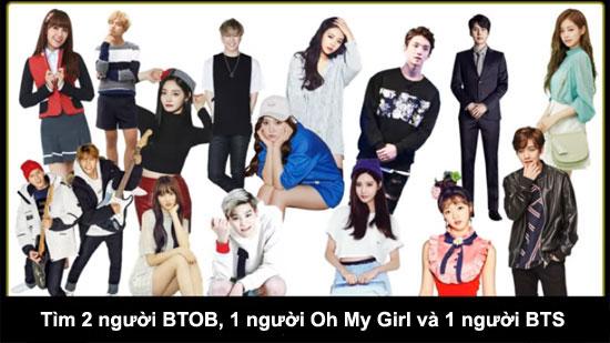 Thử thách tìm thành viên Kpop trong đám đông - 9