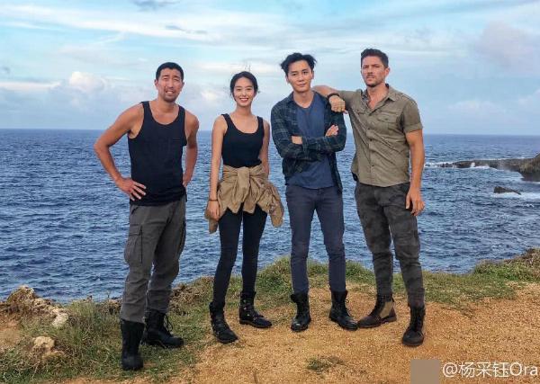 Lý Thần đang bận đóng phim ở nước ngoài. Bạn diễn Dương Thái Ngọc chia sẻ ảnh chụp cùng Lý Thần cho thấy nam diễn viên trông gầy đi nhiều.