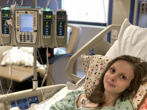 Cheyanne điều trị tại bệnh viện.