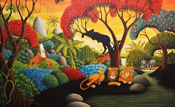 Trắc nghiệm: Bức tranh khu rừng sẽ tiết lộ lý do khiến bạn mệt mỏi