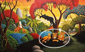 Trắc nghiệm: Bức tranh khu rừng sẽ tiết lộ lý do khiến bạn mệt mỏi - 1