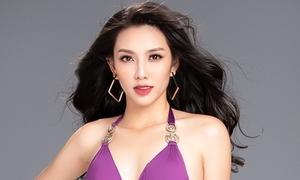 Thùy Tiên nóng bỏng với bikini trước ngày dự thi Miss International 2018