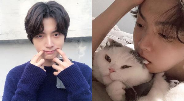 Ahn Jae Hyun 31 tuổi vẫn có khuôn mặt đáng yêu như trẻ con.