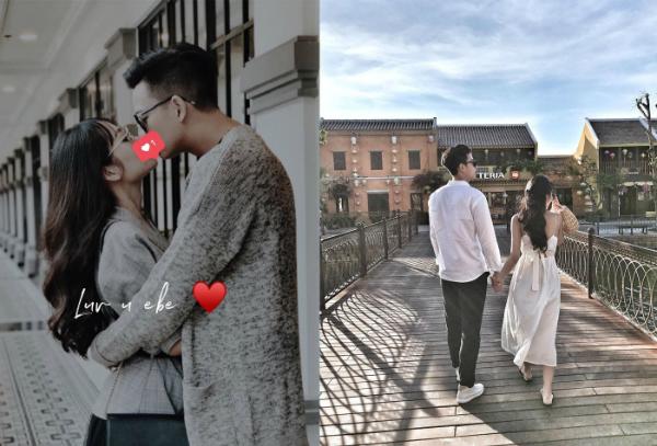 Mới đây, Phạm Hồng nam công khai hình ảnh tình tứ với một cô gái trên trang cá nhân. Đây là lần hiếm hoi cặp đôi chia sẻ về nửa kia trên trang cá nhân.
