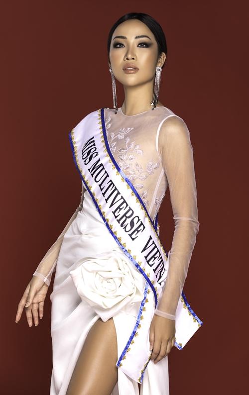 Kiko Chan sẽ tham dự cuộc thi Miss Multiverse vào tháng 10 này.