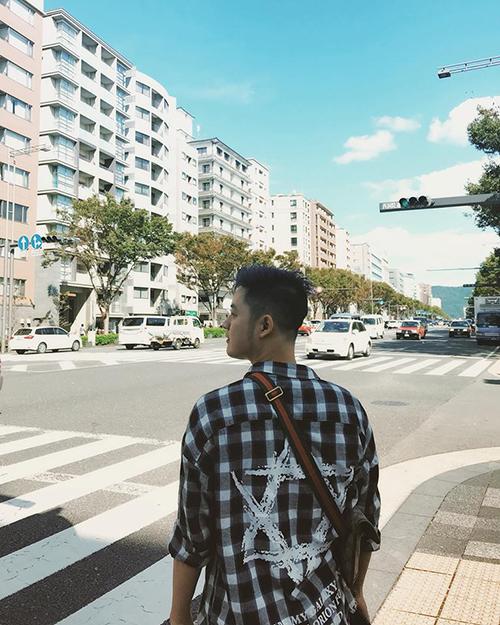 Thanh Duy rất thán phục ý thức giữ sạch sẽ đường phố của người Nhật Bản.