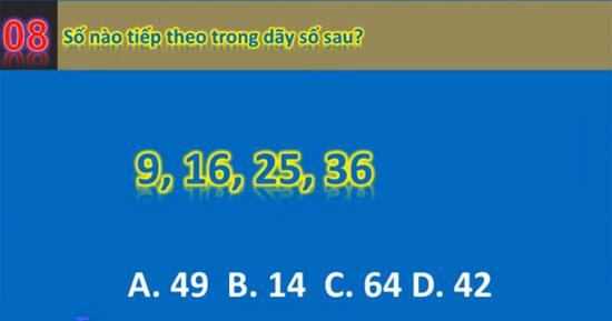 Chỉ số IQ của bạn được bao nhiêu? - 7