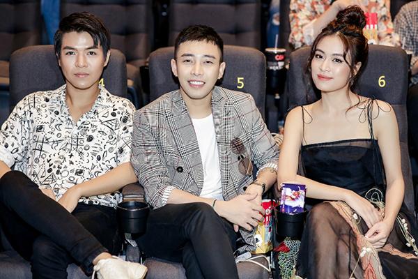 Dàn sao đến chúc mừng Hoàng Thùy Linh ra mắt MV - 6