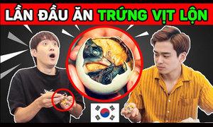 Trứng vịt lộn có ngon với người Hàn?