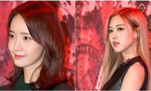Yoon Ah khoe da căng mịn, Rosé (Black Pink) lộ chân khẳng khiu