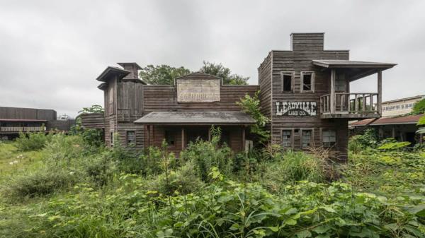 Khám phá công viên bị bỏ hoang như phim trường kinh dị ở Nhật - 7