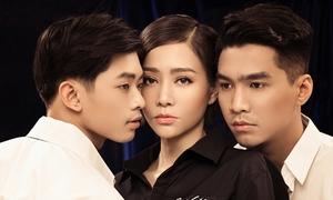 Thu Minh tung loạt ảnh với hai trai đẹp ủng hộ cộng đồng LGBT