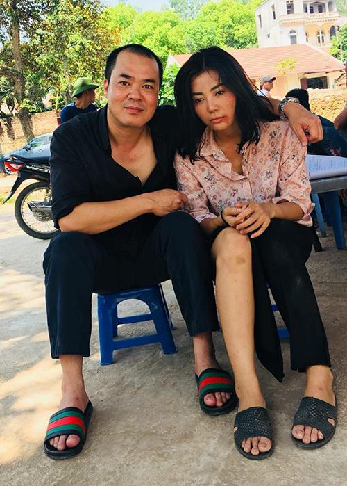 Thanh Hương bầm dập sau cảnh quay bị hiếp dâm tốn nhiều nước mắt trong Quỳnh búp bê.