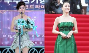 Quá khứ ăn mặc kém sang, sến sẩm của 'nữ thần sắc đẹp' Kim Tae Hee