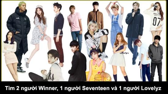 Thử thách tìm thành viên Kpop trong đám đông (2) - 9