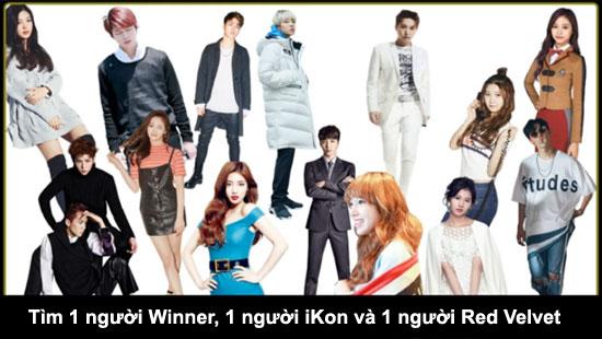 Thử thách tìm thành viên Kpop trong đám đông (2) - 3