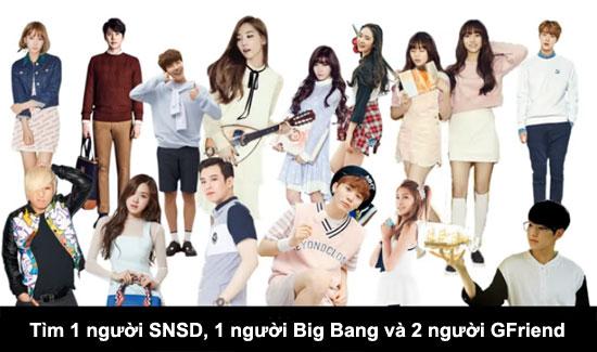 Thử thách tìm thành viên Kpop trong đám đông (2) - 6