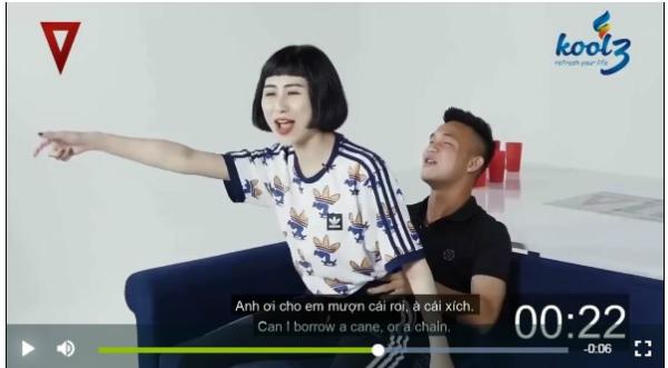 Nguyễn Hồng Sơn xuất hiện trong video phản cảm.