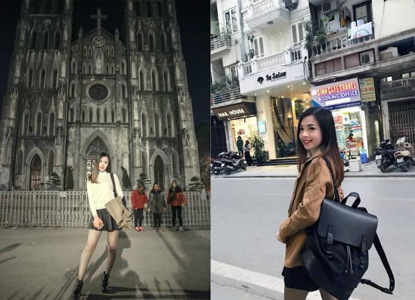 Cô nàng cũng thường xuyên khoe ảnh chụp tại các khu thương mại sang trọng, những chuyến nghỉ dưỡng xa xỉ bằng phi cơ, du thuyền. Trước đó, Mabel chia sẻ trên trang cá nhân hình ảnh cô ghé thăm Hà Nội.