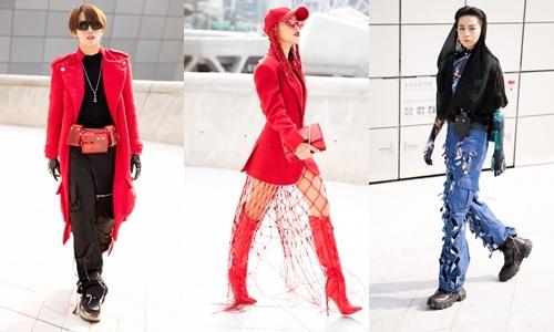 Style của Hoàng Oanh, Gil Lê, Kye Nguyễn tại Seoul Fashion Week lên báo nước ngoài