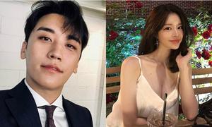 Lộ loạt ảnh nghi vấn Seung Ri hẹn hò nữ diễn viên nóng bỏng