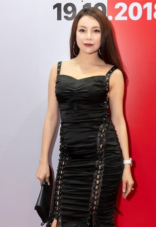 Người mẫu Trà Ngọc Hằng.