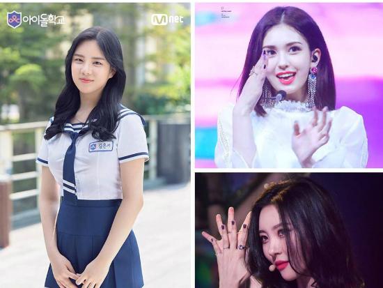 Kim Eun Suh nói xấu cả Somi và Sun Mi ở phần bình luận.