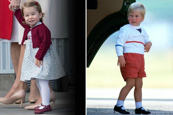 Đây là khuôn mặt hớn hở rạng rõ của hai cha con khi được đi du lịch. Công chúa đến Canada còn cha cô bé ở Aberdeen.