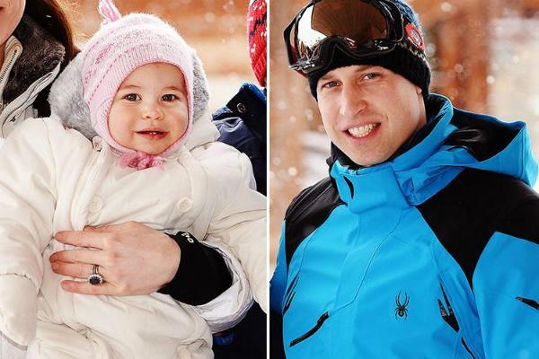 Hình chụp cả hai trong kỳ nghỉ trượt tuyết vào tháng 3/2016. Thật không hổ danh con nhà tông, không giống lông cũng giống cánh.