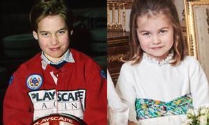 Những khoảnh khắc chứng minh Công chúa Charlotte giống hệt Hoàng tử William
