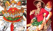 6 bộ quốc phục của H'Hen Niê ở Miss Universe: Từ bản vẽ ra đời thực