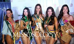 Phương Khánh giành huy chương bạc phần thi Áo tắm Miss Earth