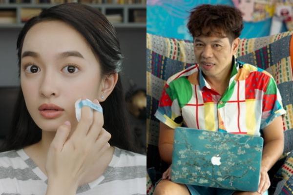 Thái Hòa - Kaity Nguyễn hoán đổi thân xác vì bị sét đánh trong phim